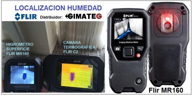 Termografia flir c2 y detectores fugas humedad gimateg videoscopios y equipos inspeccion - Detector de humedad para suelos y paredes ...